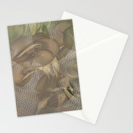 Three of Pentacles Stationery Cards