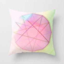 modulo 12 bright Throw Pillow