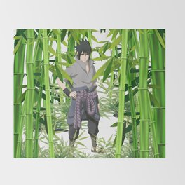 Hero anime 01 Throw Blanket