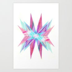 Triangles #5 Art Print