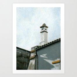 Dueñas Rooftops, Seville, Spain Art Print