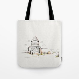 armenian church in ani Tote Bag