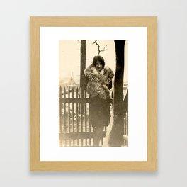 Winter Warm Framed Art Print