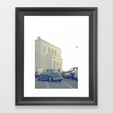 Hotel Atlantis Vintage Moment  Framed Art Print