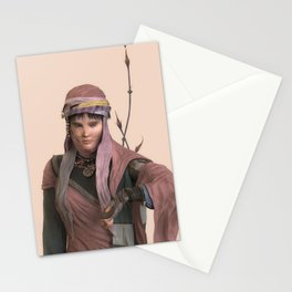 Amano's girl Stationery Cards