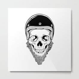 SAFETY DEAD Metal Print
