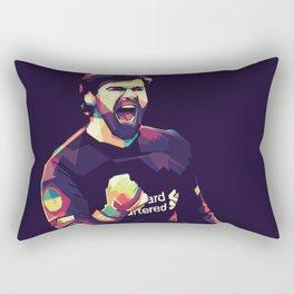 Alisson on WPAP Pop Art Portrait Rectangular Pillow
