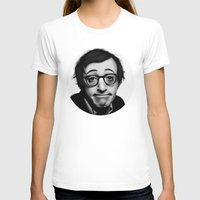 woody allen T-shirts featuring Woody Allen by Alexia Rose