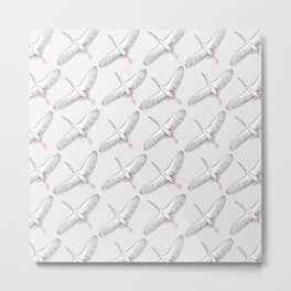 White stork Metal Print