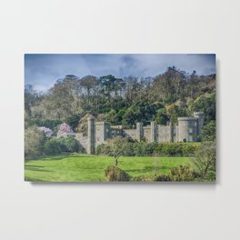 Caerhays Castle Metal Print