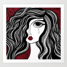 Bette Art Print