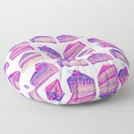 Cake Slices – Unicorn Palette Floor Pillow