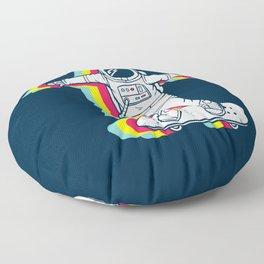 Spaceboarding Floor Pillow