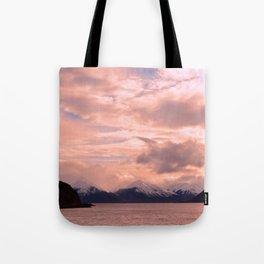 Rose Quartz Over Hope Valley Tote Bag