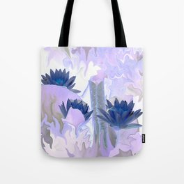 The Fae's water lily pond... Tote Bag