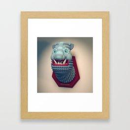 Taxidermy 2: Yeti Framed Art Print