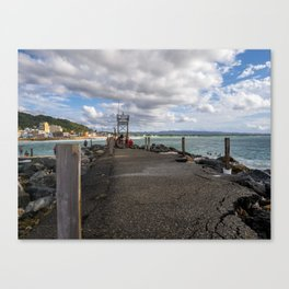 Aguadilla coast 6 Canvas Print