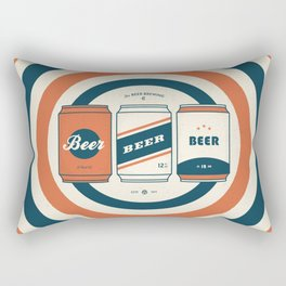 The Beer Brewing Company - Red Rectangular Pillow