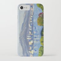 monet iPhone & iPod Cases featuring Monet Study by Paige Melinis