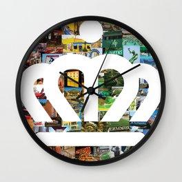 Charlotte Mecklenburg NC Wall Clock