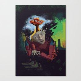 Distorted Dreams Canvas Print