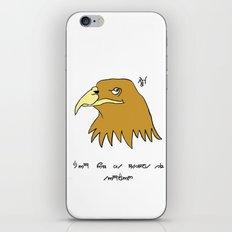 The Eagle and England iPhone & iPod Skin