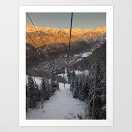 Telluride Col Art Print