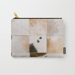 Cattle Cowhide Patchwork [i.2021] Carry-All Pouch
