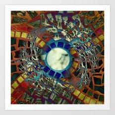Mosaic Abstract 2 Art Print