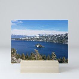 Inspiration Point at Emerald Bay Mini Art Print