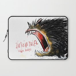 The Insomnia monster Laptop Sleeve