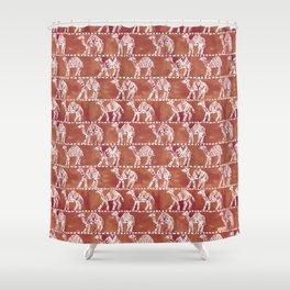 CAMEL CARAVAN Shower Curtain