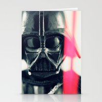 vader Stationery Cards featuring Vader by Fanboy30
