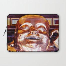 Shiny, Happy Buddha  Laptop Sleeve