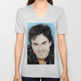 Damon Salvatore Unisex V-Neck
