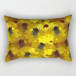 Busy Bee Design Rectangular Pillow