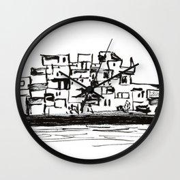 Habitat 67 Wall Clock