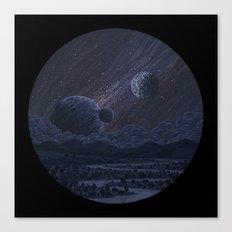 Spacescape Canvas Print
