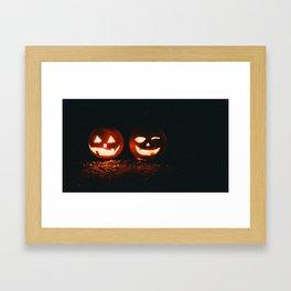 Jackolanterns Framed Art Print