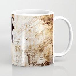 Marylin Monroe Vintage Collage Coffee Mug