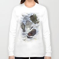 ship Long Sleeve T-shirts featuring Ship by Andreas Derebucha