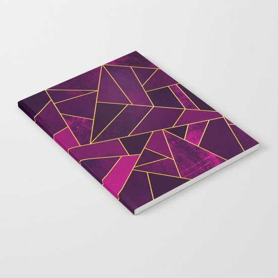 Purple Stone Notebook