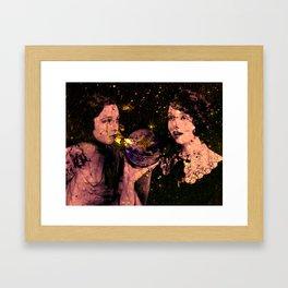 Time stands still Framed Art Print