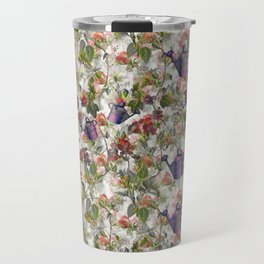 Floral with Watering Can Travel Mug