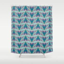 Fish tales 1b Shower Curtain