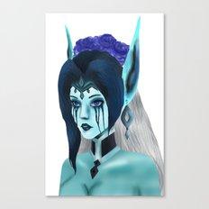 Morgana: Fallen Angel Canvas Print