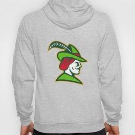 Robin Hood Side Retro Hoody