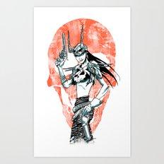 Gunslinger Girl Art Print