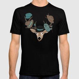 Deer Hat Rack T-shirt
