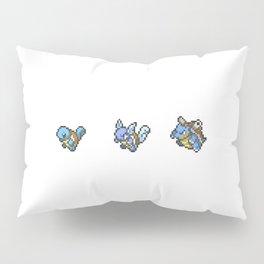 Blue Evolutions Squirtle/Wartortle/Blastoise Pillow Sham